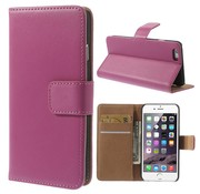 GSMWise Hot Pink PU lederen Portemonnee hoesje iPhone 6/6S Plus