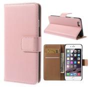 GSMWise Roze PU lederen Portemonnee hoesje iPhone 6/6S Plus