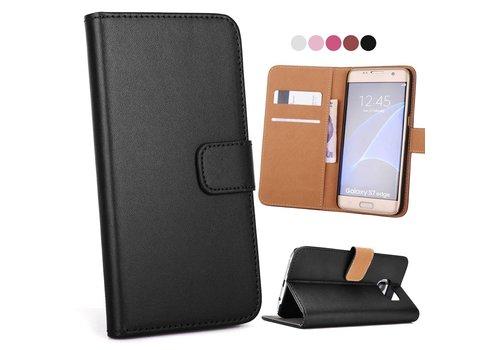 Samsung Galaxy S7 Edge Hoesje - Wallet Case Business - Zwart
