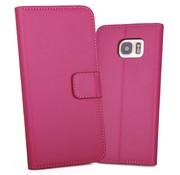 GSMWise Hot Pink PU lederen Portemonnee hoesje Galaxy S7 Edge