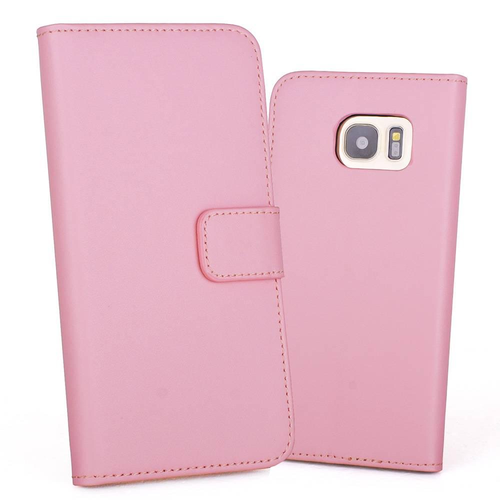 Roze Leren Portemonnee.Gsmwise Roze Pu Lederen Portemonnee Hoesje Voor De Samsung Galaxy S7