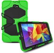 GSMWise Samsung Galaxy Tab A 10.1 (2016) Heavy Duty tablethoes - Licht Groen