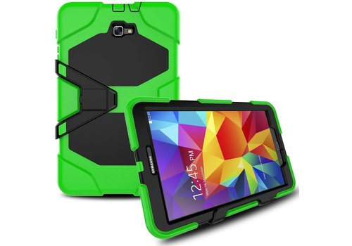 Samsung Galaxy Tab A 10.1 (2016) Heavy Duty tablethoes - Licht Groen