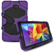 GSMWise Samsung Galaxy Tab A 10.1 (2016) Heavy Duty tablethoes - Paars