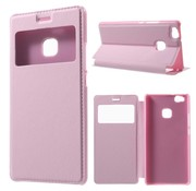 GSMWise Huawei P9 Lite / G9 Lite View Window Leather Flip Case - Roze