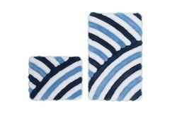 In Style Badmat Blauw Set van 2 Basic