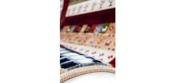 Kayoom Atlas Vloerkleed 120x170 Multi Rood