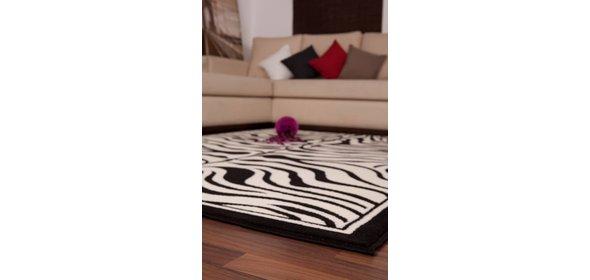 Lalee Contempo Vloerkleed 120x170 Black/White 450