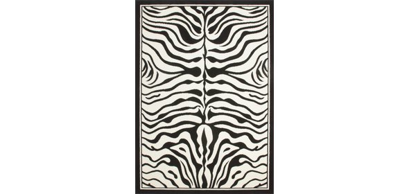 Lalee Contempo Vloerkleed 80x150 Zwart Wit
