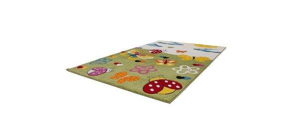 Lalee Amigo Vlinder Kindervloerkleed 120x170 Groen