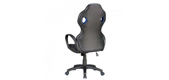 Sky Style Monza Bureaustoel Zwart/Blauw