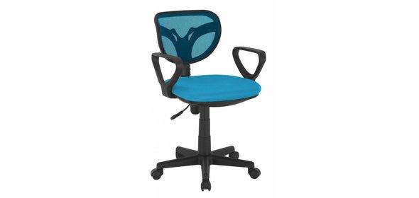 Monaica Hippa Bureaustoel Blauw