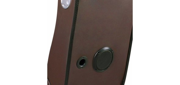 Music Rocker LevelOne Gamestoel Bruin met Bluetooth
