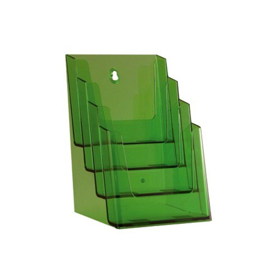 Folderhouder A5 meervoudig 4 vaks