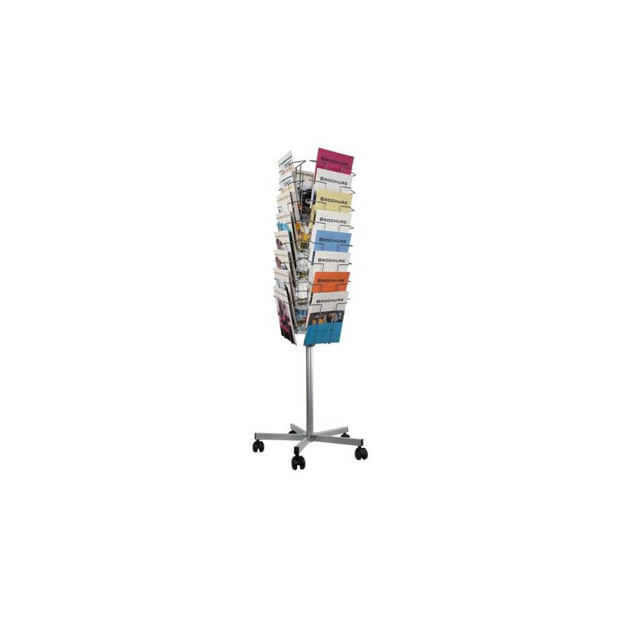 Vloerstandaard Folders 32 vaks voor A4 folders