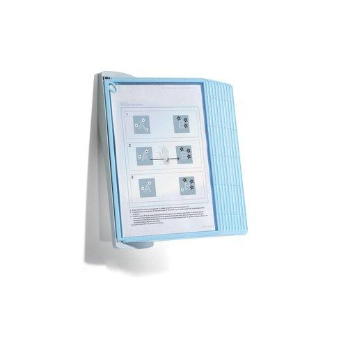 Zichtpanelensysteem Sherpa Bact-O-Clean lichtblauw Wall 2 sets