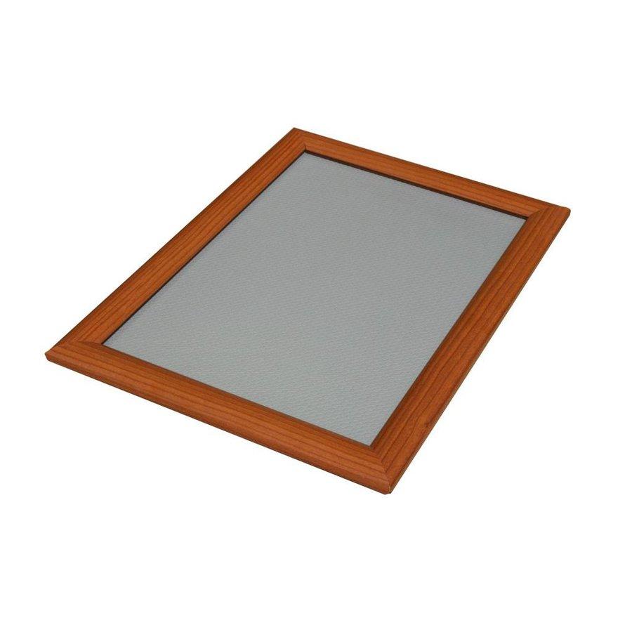 Kliklijst houtlook 25mm verstek A5, A4, A3, A2, A1, B1