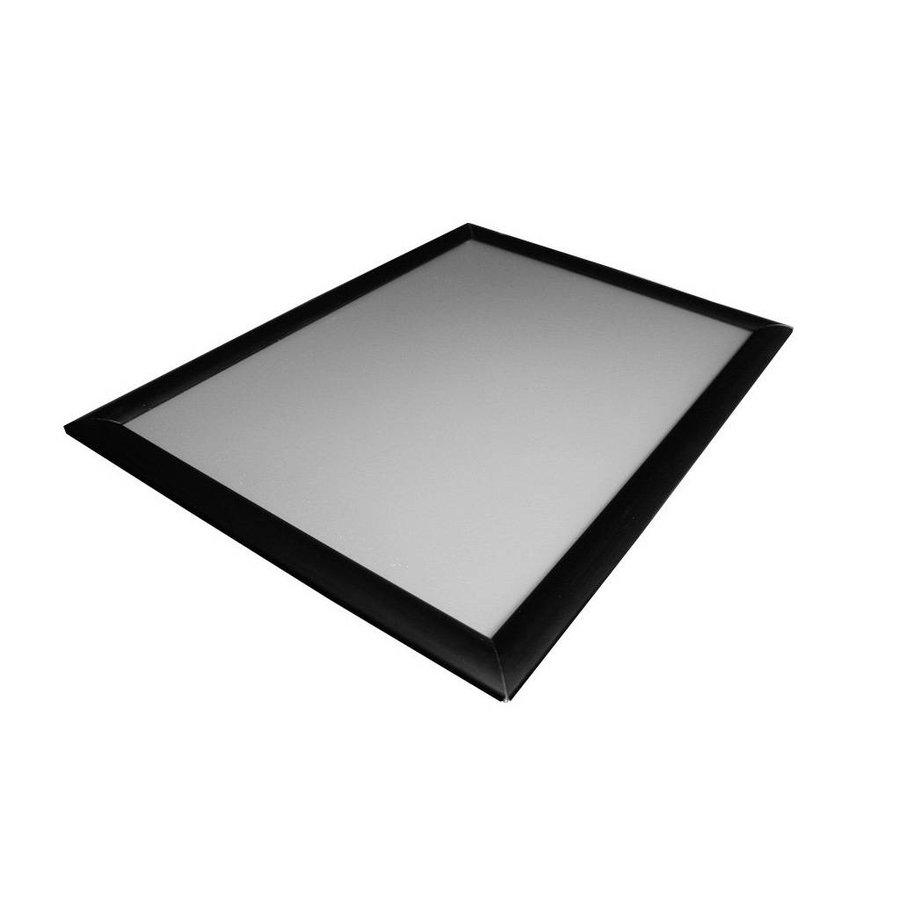 Kliklijst zwart 25mm verstek A4, A3, A2, A1, A0, B2, B1