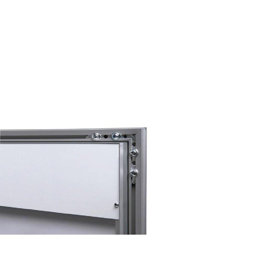 Menuvitrine 2xA4 portret onverlicht binnen/buiten