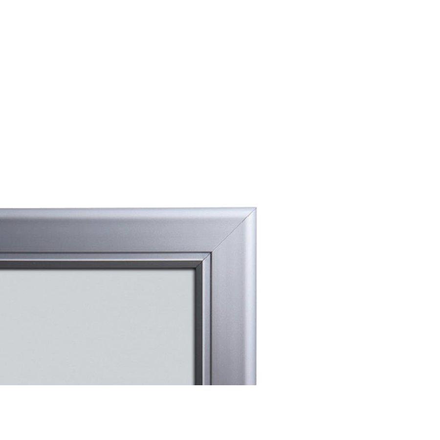Menuvitrine 2xA4 boven elkaar onverlicht binnen/buiten