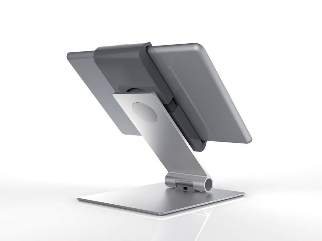 Tablet Houder Tafel : Tablet houder tafel model aluminium kliklijsten