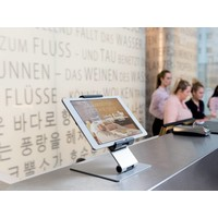 Tablet Houder tafel model Aluminium