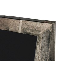 Krijtstoepbord steigerhout oud grijs 75x135cm