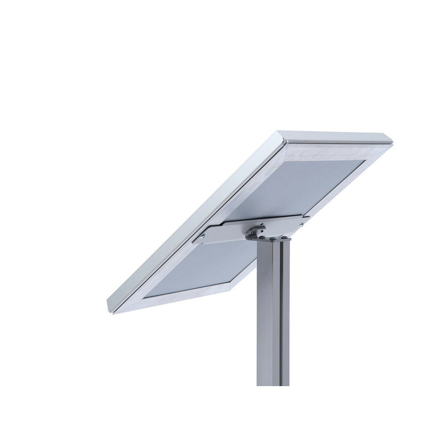 Menustandaard A3 Triangle aluminium
