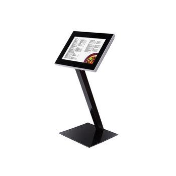 Menukast met LED zwart  A2 Premium Outdoor