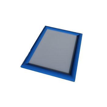 Kliklijst blauw 25mm verstek