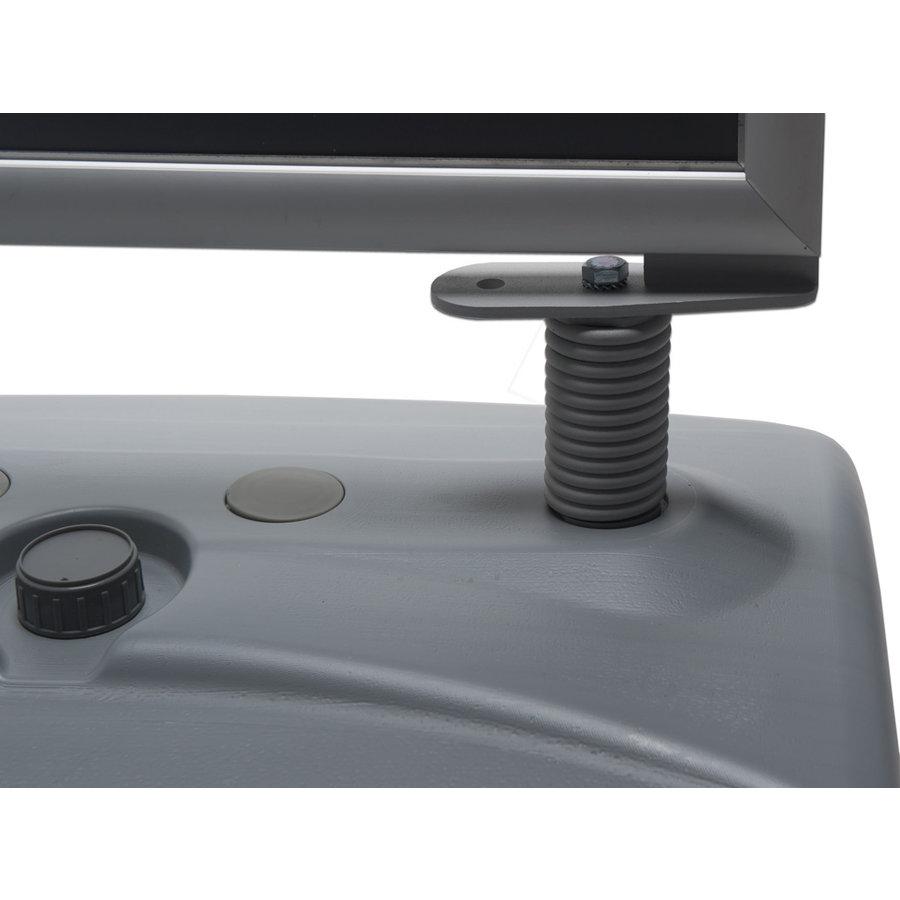 Stoepbord Windproof grijs met Waterbase A1, A0 en B1