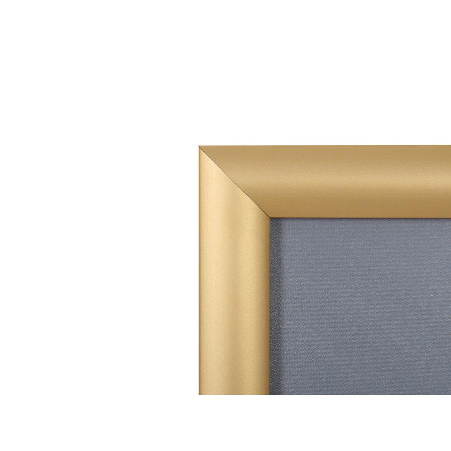 Kliklijst goud 25mm verstek A4, A3, A2, A1, A0, B2 en B1