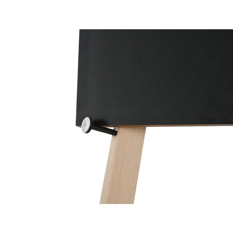Houten informatiestandaard inklapbaar Hoogte 150cm