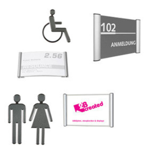 Deurborden | Toiletborden