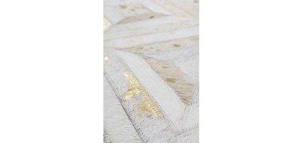 Kayoom Spark Poef Ivory/Goud 400
