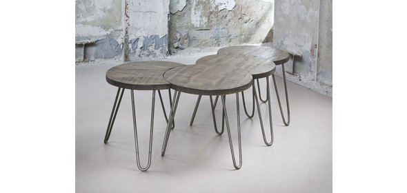 Davidi Design Lenna Salontafel Set Leem