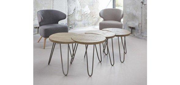 Davidi Design Lenna Salontafel Set Blank