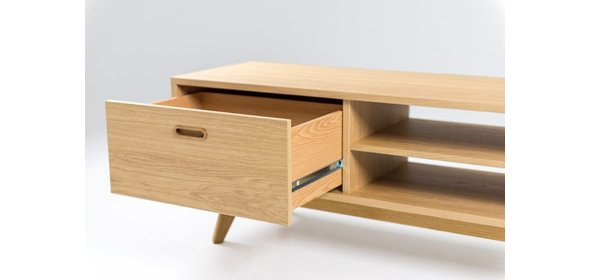 Tenzo Bess TV meubel Eiken Fineer