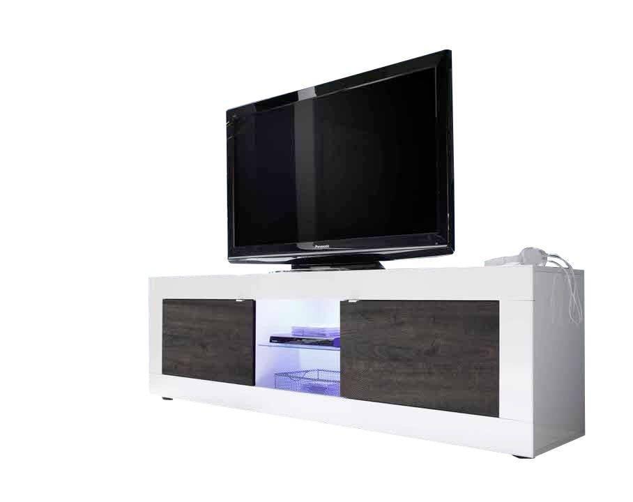 - Benvenuto Design Modena TV meubel Big HG Wenge+LED
