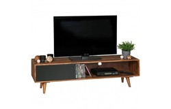 Repa TV Meubel Bruin/Zwart