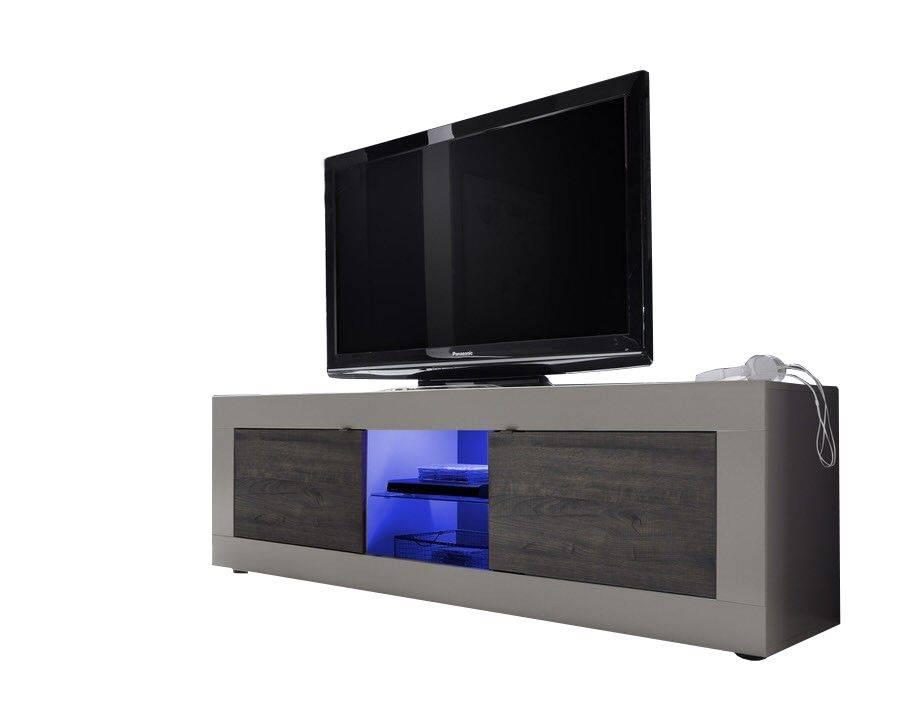 - Benvenuto Design Modena TV meubel Big Matt Wenge+LED