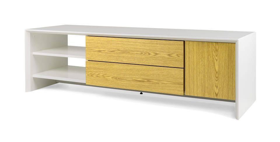 - Tenzo Profil TV meubel 150 cm. Eiken