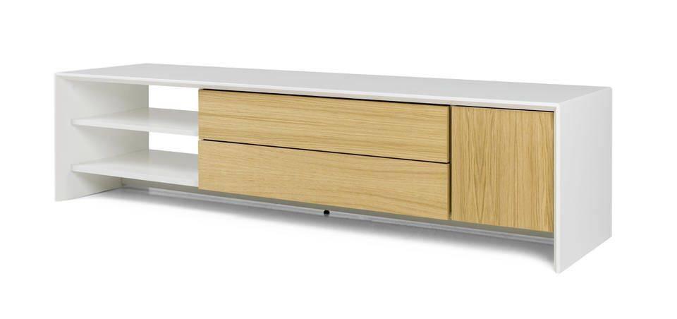 - Tenzo Profil TV meubel 180 cm. Eiken
