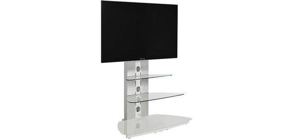 Jahnke Moebel Cuuba MR 90 TV meubel Zilver/Wit