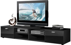 Noven TV meubel HG Zwart