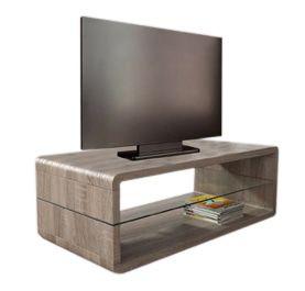 - Monaica Derby TV meubel Small Donker Eiken