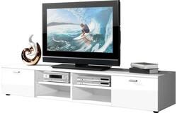 Noven TV meubel HG Wit