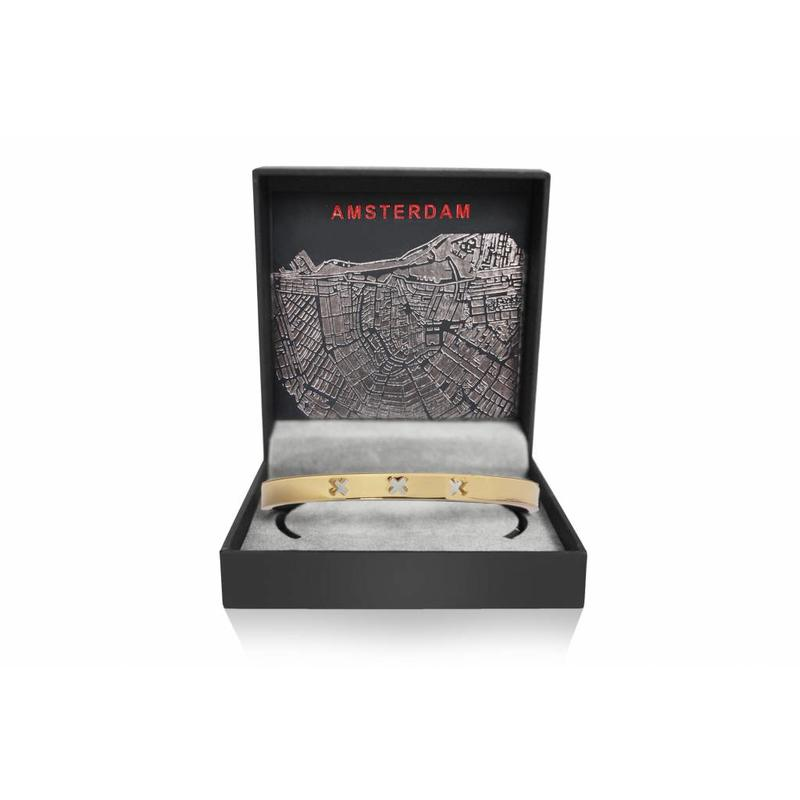 Amsterdam bracelet- GOLD - limited edition
