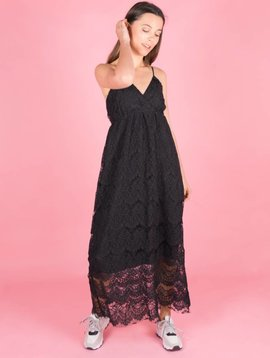 LIVING IN LACE BLACK DRESS