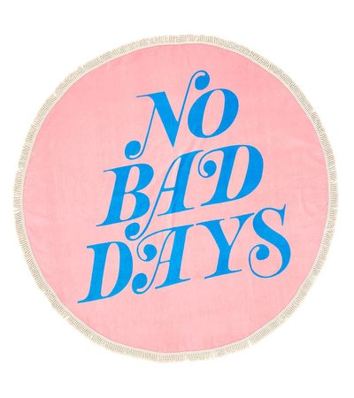 NO BAD DAYS GIANT TOWEL